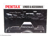 Pentax Lenses & Accessories Manual 2592