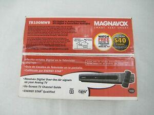 NEW-MAXNAVOX DTV Digital to Analog Converter-Model TB100MW9 Digital TV Converter