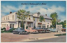 Bucher's Restaurant & Motel, Emmitsburg, Maryland