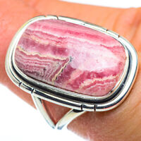 Rhodochrosite 925 Sterling Silver Ring Size 6.25 Ana Co Jewelry R45657F