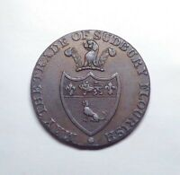 "1793 Great Britain - Suffolk Halfpenny Token, ""Pro Bono Publico"", DH-38."