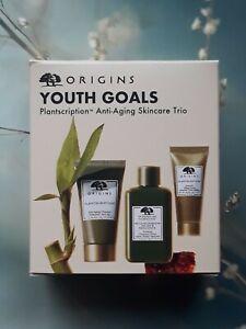 Origins Youth Goals Plantscription Anti - Aging Skincare Trio