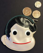 Wonderfully Kitsch 1960s Face Purse - UNUSED OLD WAREHOUSE FIND