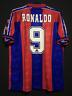 1996/97 FC Barcelona Home Shirt #9 RONALDO All Sizes S / M / L / XL