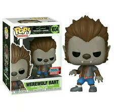 Funko Pop Werewolf Bart #1034 The Simpsons NYCC Fall Con 2020 Exclusive NEW