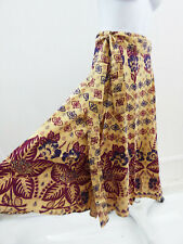 Vintage  Deadstock Wrap Skirt One size Tribal Hippie Boho Vtg  Cotton India p12