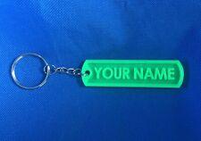 2021 Custom Name Keychain (Luggage Tag), MOD & 3D printed
