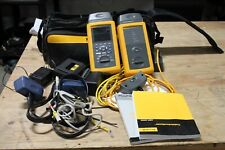 Fluke DSP-4000 Bundle w/ DSP-4100 Cable Analyzer & Smart Remote NICE