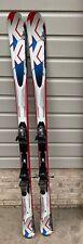 snow skis 167cm with bindings ,K2 With Marker Bindings