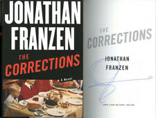 Jonathan Franzen SIGNED AUTOGRAPHED The Corrections HC 1st Edition 1st Print New