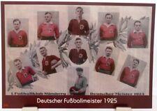 1.FC Nürnberg + Deutscher Fußball Meister 1925 + Fan Big Card Edition F13 +