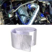 Heat Wrap Tape Silver FiberglassSelf Adhesive Reflective Automotive Exhaust US