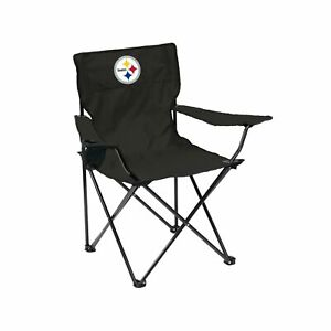 NFL Folding Quad Chair with Carry Bag Pittsburgh Steelers One Size
