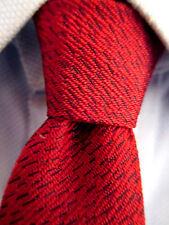 Men's Warp Red Silk Skinny Tie 20361
