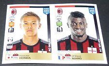 605 606 HONDA JAPON NIPPON NIANG MILAN AC ITALIA PANINI FOOTBALL FIFA 365 2015