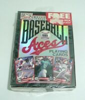 MLB 1995 Deck of Playing Cards Major League Baseball Aces Ken Griffey Jr Gwynn