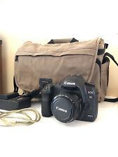 Canon EOS 5D Mark II 21.1MP Digital SLR Camera - Black, Comes W/ Bag & Accs