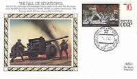 1992 WW2 50th ANNIVERSARY THE FALL OF SEVASTOPOL BENHAM SILK COVER SHS