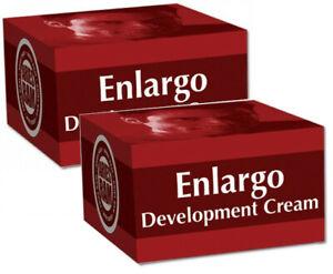2 x ENLARGO Penis Growth Cream Development Enlarger Sex Aid Aries Ram