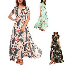 Rayon Summer Full Length Dresses for Women