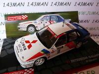 voiture 1/43 IXO Rallye Champions Finlande : MITSUBISHI Galant VR-4 1989