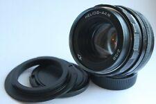 Helios 44m 58mm f/2 M42 Boke Lens for Canon EOS Adapter 1100D 1200D 60D 760D