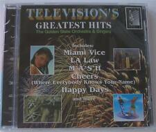 Television's Greatest Hits  SEALED  CD  NEW