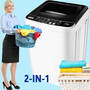 Tailory One Portable Clothes Washing Machine H0001 5A Pair Drum Black