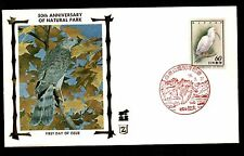 Birds First Day Cover Asian Stamps