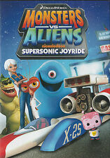 Monsters Vs. Aliens SUPERSONIC JOYRIDE Region 1 New but UNSEALED 9 Complete Eps.