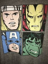 """Retro Brand Marvel """"The Avengers"""" Graphic T Shirt Size 4XB/4XL New With Tags"""