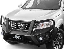 New Genuine Nissan Navara NP300 ST STX 4WD Front Steel Bullbar 2015 On