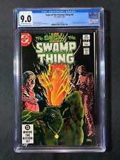 Saga of the Swamp Thing #9 CGC 9.0 (1983) - Phantom Stranger backup story