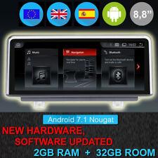PANTALLA RADIO GPS ANDROID BMW SERIE 1 F20, F21 GPS MANOS LIBRES PARROT, USB