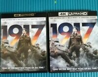 1917 Blu-ray DVD disc only  and  a slip cover from original 4k pack