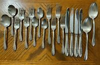 Alvin FASHION LANE Silverplate Flatware Forks Spoons Knives Lot of 19