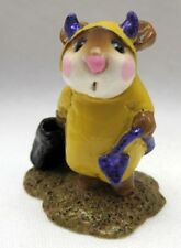 WEE FOREST FOLK  RARE SPECIAL COLOR YELLOW DEVIL PURPLE TAIL & HORNS