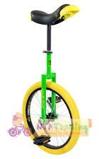 QU-AX Einrad 20 Zoll Luxus grün mit Einradständer NEU 1104