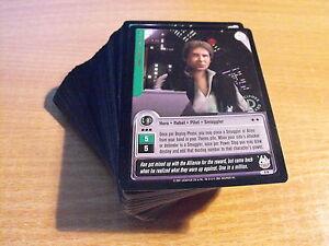 Star Wars Jedi Knights Lot De 99/100 Feuille D'Or Rares