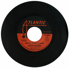"""JACKIE MOORE  """"SWEET CHARLIE BABE c/w IF""""   70's SOULFUL DANCER   LISTEN"""