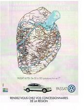 PUBLICITE ADVERTISING  2002  VOLKSWAGEN  PASSAT V6 TDI