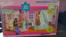 New Barbie Bath & Bubbles House Model 54246 Year 2002