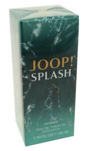 (172,50€/100ml) Joop Splash 40 ml Eau de Toilette Spray Herren EDT