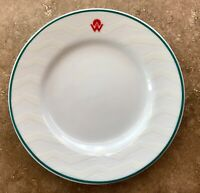 America West Airlines First Class Plates - Perfect Condition - Rare & Vintage!