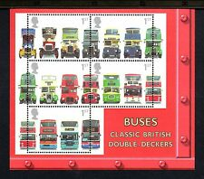 GB MNH 2001 MS2215 150TH ANV OF FIRST DOUBLE DECKER BUS MINISHEET