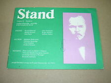 STAND. MAGAZINE. VOLUME 22 No.4. 1981. POETRY. FICTION. REVIEWS