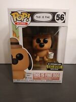 NEW FUNKO POP! ICONS THIS ID FINE DOG #56 ENTERTAINMENT EARTH EXCLUSIVE