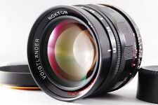 EXC++++ Voigtlander Nokton 50mm f/1.5 Aspherical for Leica L +Hood fromJapan#m05