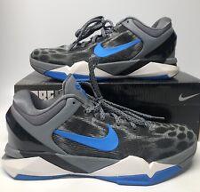Nike Zoom Kobe VII 7 System Snow Leopard Blue Grey Cheetah Dart Frog What The 10