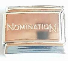 Genuine Nomination Bracelet Charm Link Silver